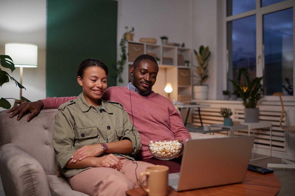 Film in streaming in alta definizione